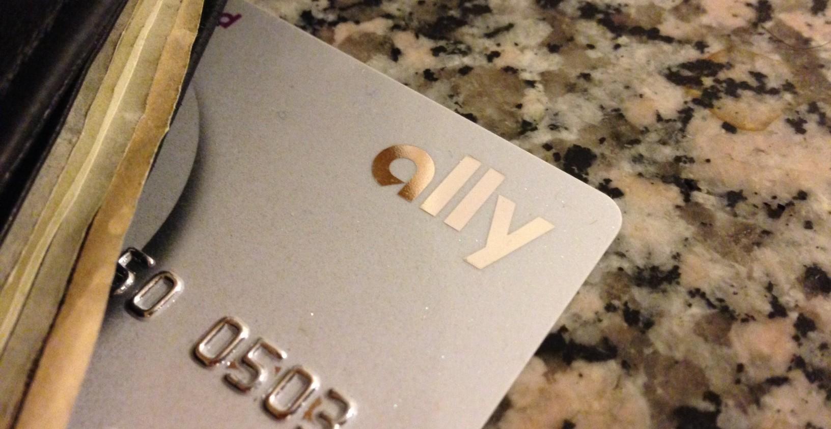 ally bank debit card