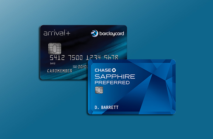 Barclaycard Arrival Plus chase sapphire