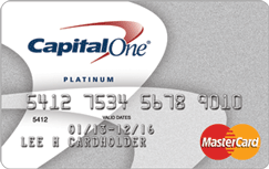 Capitol One best secured credit card image