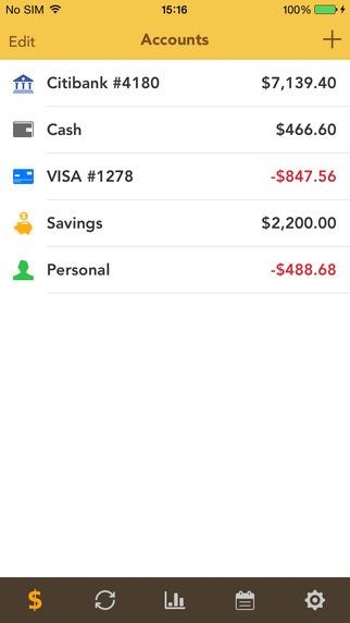 checkbook app
