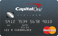 The Capital One Secured MasterCard