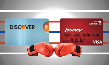 discover vs capital one journey
