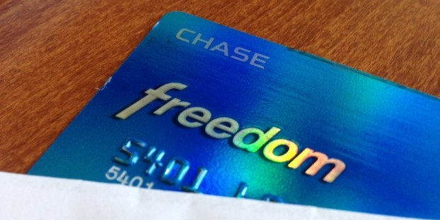 Chase freedom master card
