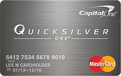 Capital One-QuicksilverOne-Cash-Rewards Credit-Card