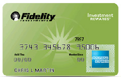 Fidelity Investment Rewards American Express