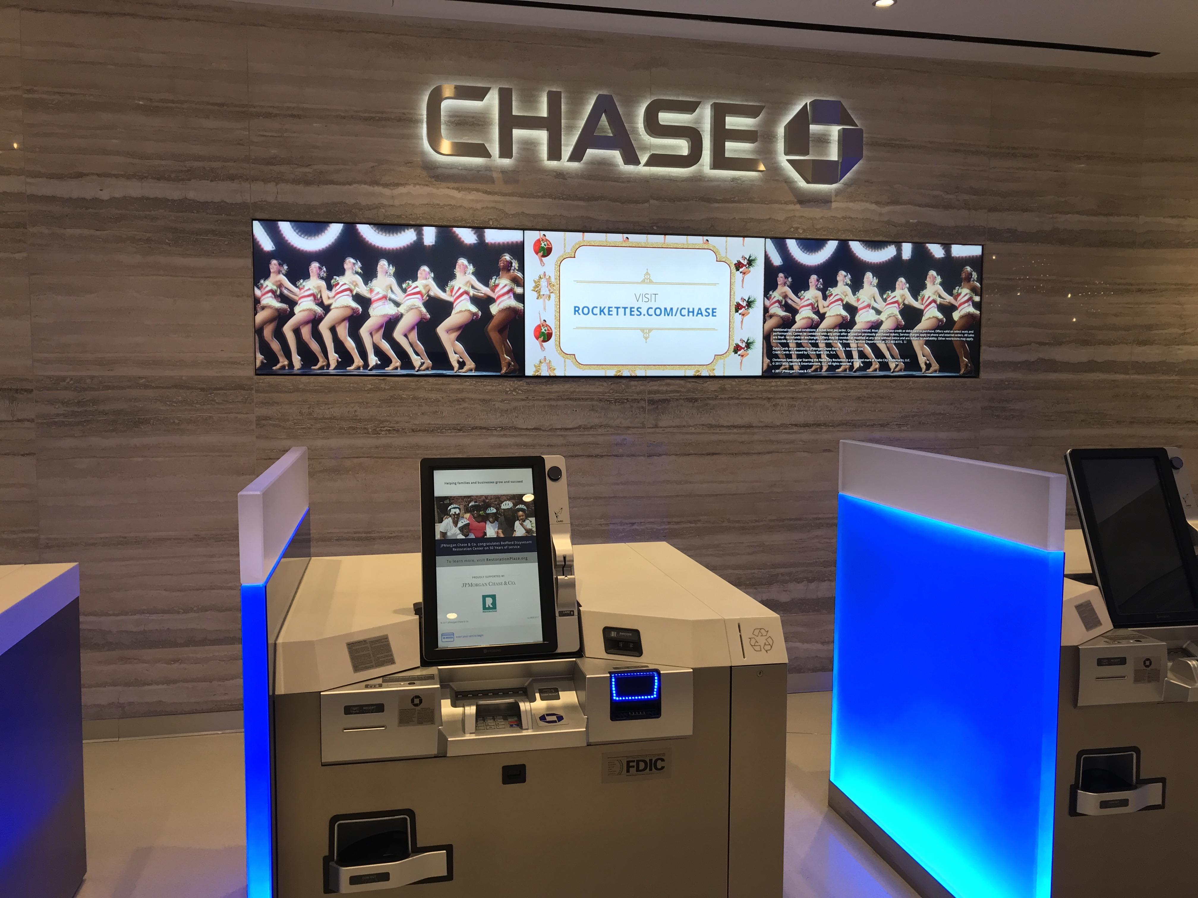 Chase ATMs New York, NY