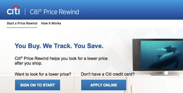citi price rewind website picture