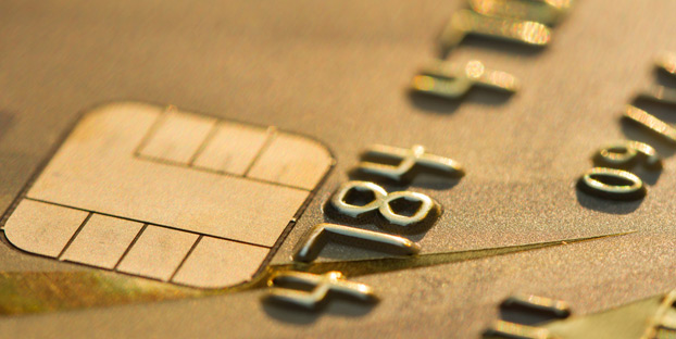 credit card security chip image