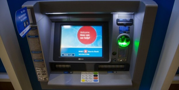 Cardless ATM technology has the potential to spread to banks nationwide. Photo: BMO Harris