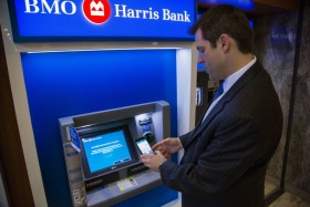 BMO Harris Bank: Regional Bank Now Lets You Withdraw Cash With Your Smartphone