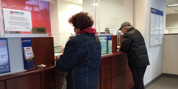 Even smaller banks, like Popular Community Bank, requires an account for cashier's checks.