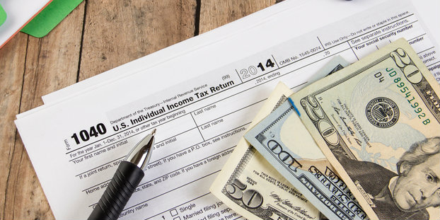 According to the IRS, most tax refunds are processed within 21 days.  Image via Shutterstock