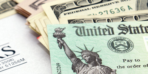 Typically, it takes up to 21 days for the IRS to issue a tax refund.  Image via Shutterstock