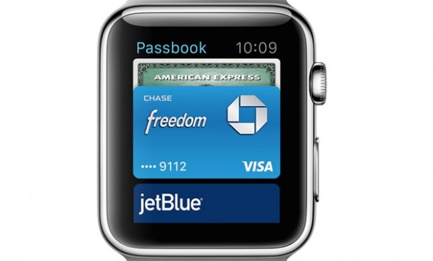 Apple Pay makes an appearance on Apple Watch for even easier mobile payments.