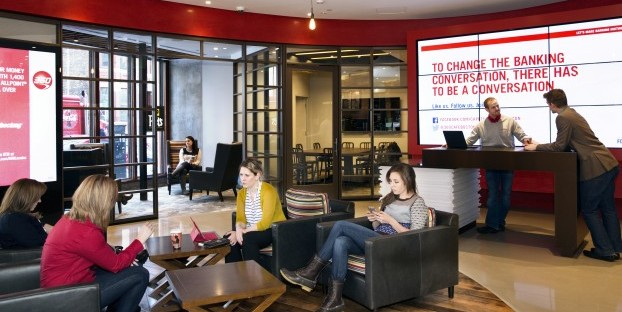 Capital One 360 continues to operate the bank-themed cafes. Photo: Business Wire/Capital One 360