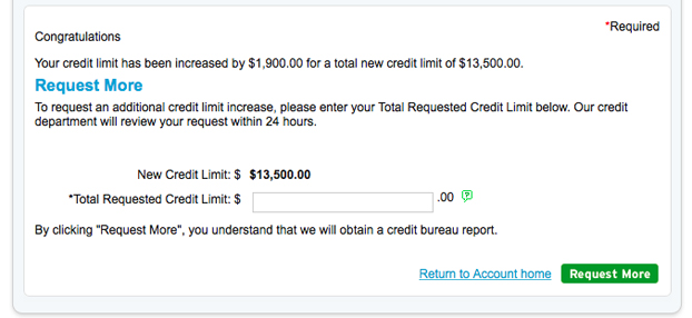 Citi will ask to pull your credit report if you're unsatisfied with the automatic CLI.