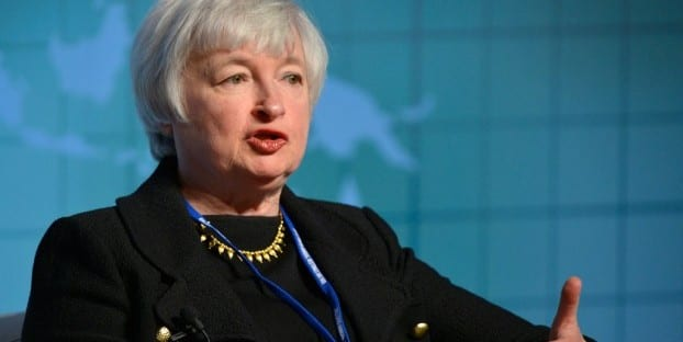 The Fed, headed by chairwoman Janet Yellen, will increase rates slowly if it ever happens. Photo: Flickr | https://www.flickr.com/photos/thespeakernews/16165619661/in/photolist-h51Rzy-h539bM-h51DMg-DvuT7-btCEc8-qCv2wn-tFD9z3-dRaAqt-btD3kT-btCn3r