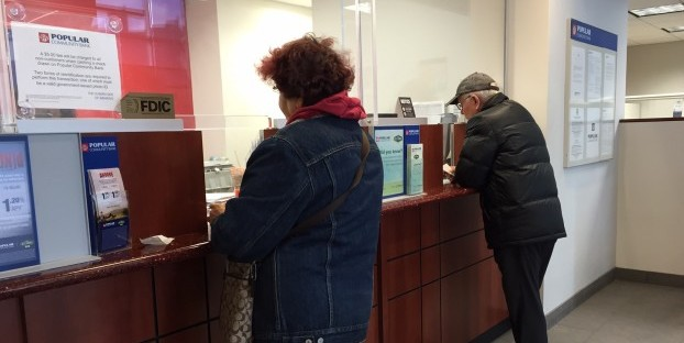 A teller might not question a post-dated check that is being deposited early.