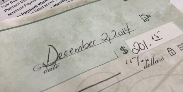 You'd expect the date on a check to hold some weight. Be prepared for a surprise...