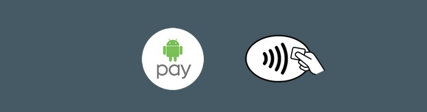 If any of these symbols are on the payment terminal, it accept Android Pay.