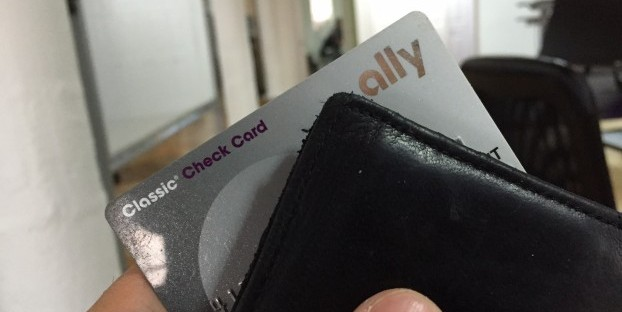 Your Ally debit won't be happy to hear that you won't be using it as much.