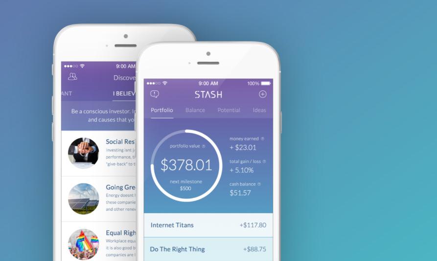 Stash iPhone App