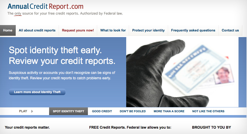 anual credit report