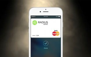 Radius Bank Apple Pay