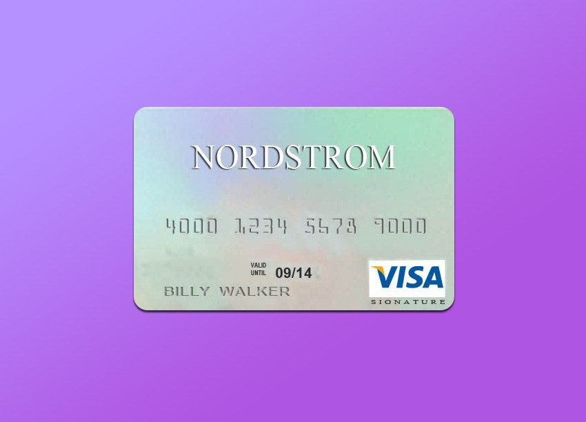 Main features of the Nordstrom credit cards