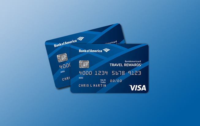 Student Bankamericard Travel Rewards Credit Card