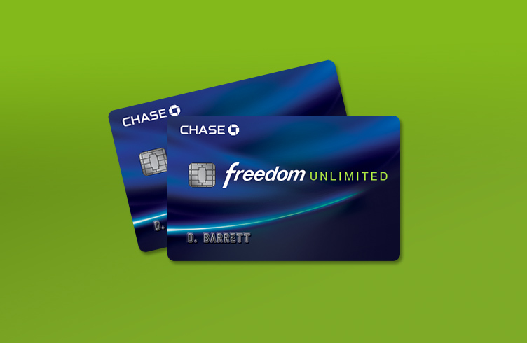chase credit card unlimited freedom