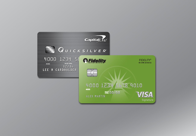 Capital One Quicksilver cards