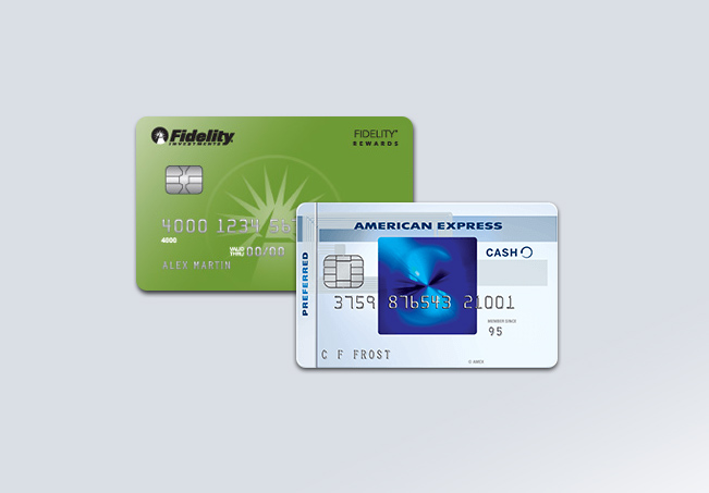 Fidelity® Rewards Visa Signature® Card vs. Blue Cash Everyday® Card from American Express Review