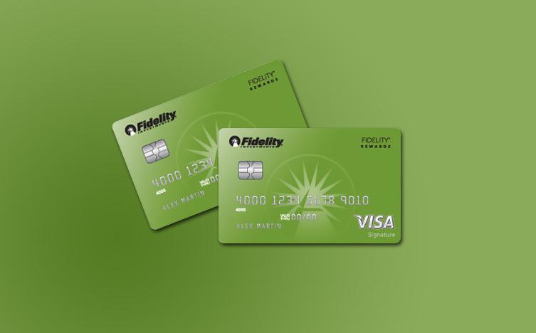 fidelity credit card