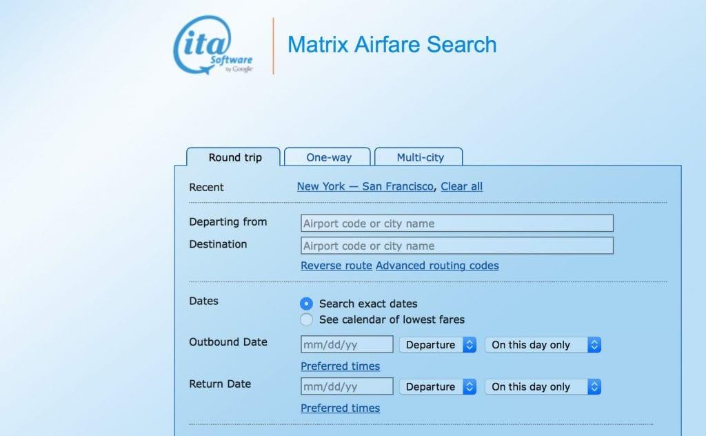 ita matrix website