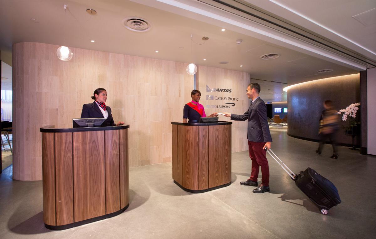 British Airways airport lounge access