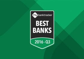 Announcing the MyBankTracker Bank Awards Q3 2016