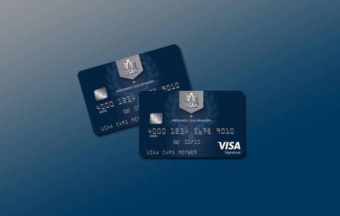 USAA Preferred Cash Rewards Visa Signature for military spending