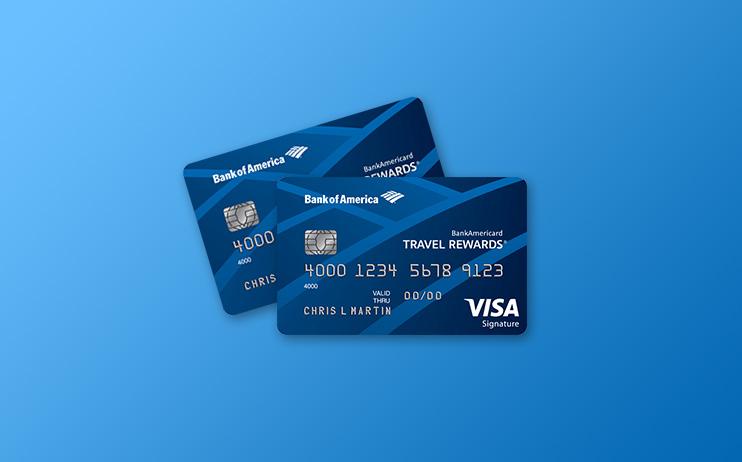 review of bankamericard travel rewards visa signature
