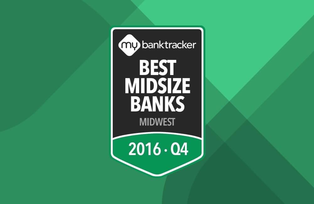 Best Regional Bank Midwest
