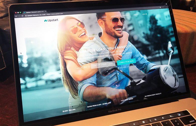 Upstart website