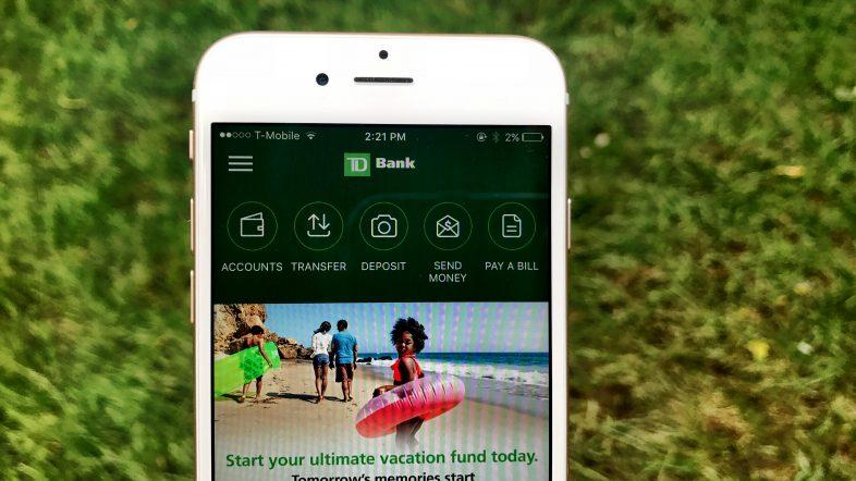 TD Bank iPhone App