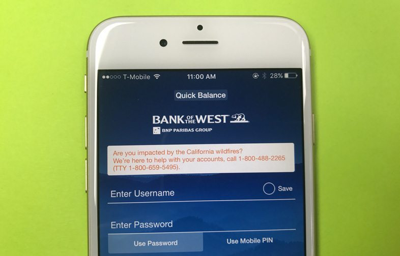 Bank Of The West App