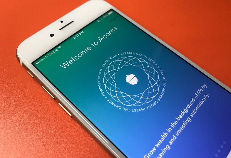 Acorns iPhone App