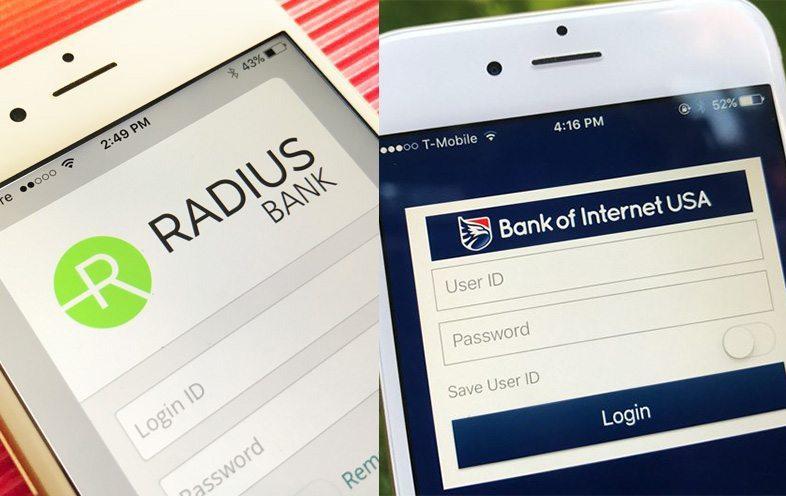 Radius vs. Bank of Internet