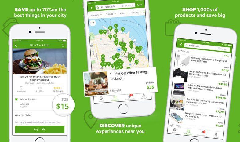 Groupon iPhone App