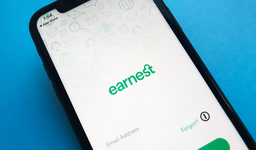 Earnest Personal Loans iPhone App