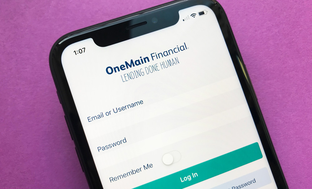 OneMain Financial iPhone App