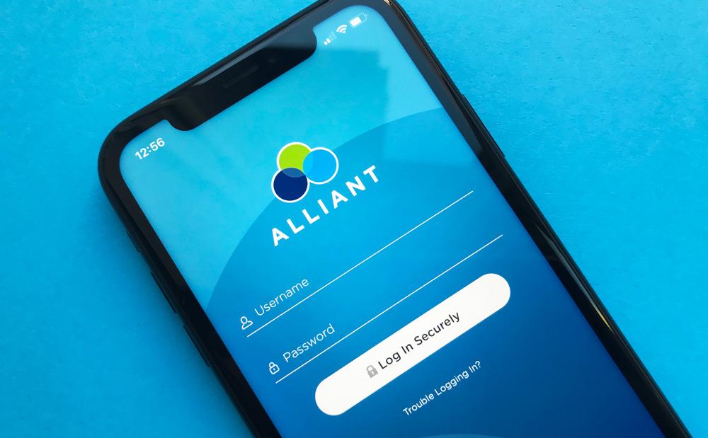 Alliant Credit Union iPhone App