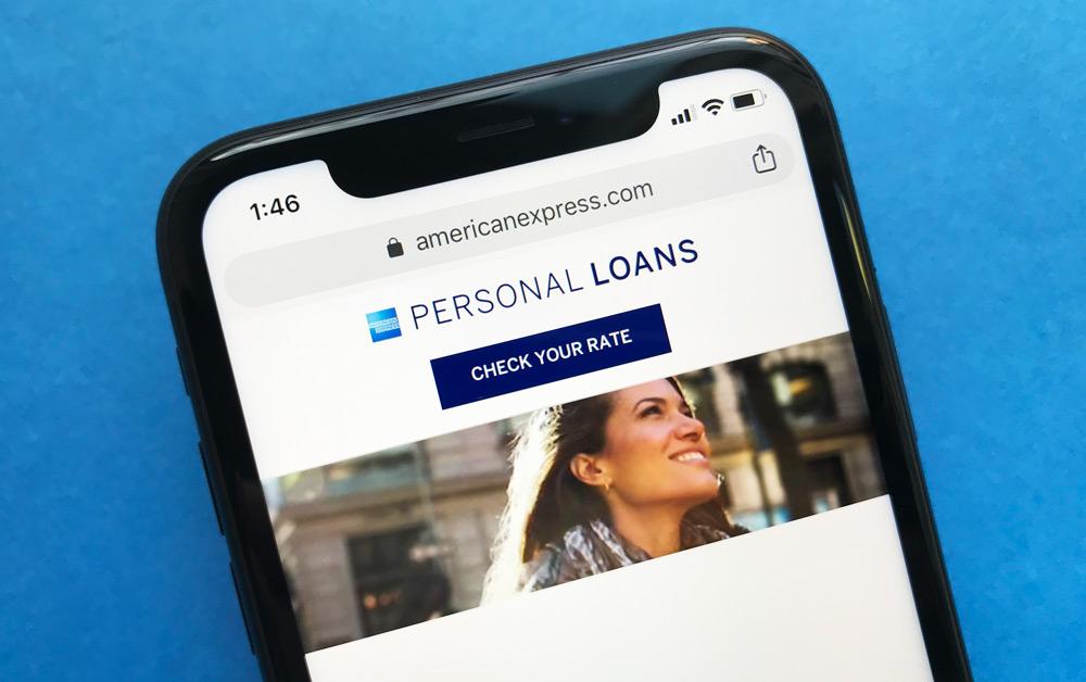 American Express Personal Loans Website